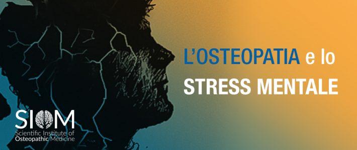 OSTEOPATIA E STRESS MENTALE