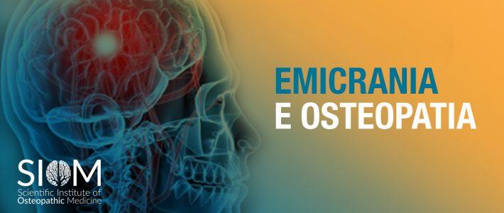 EMICRANIA: UN VALIDO AIUTO DALL'OSTEOPATIA